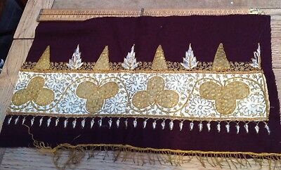 Beautiful Vintage / Antique Embroidered Pattern, Antique Embroidery