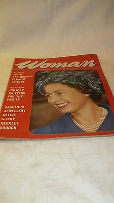 Vintage issue of Woman womens weekly magazine - 21st March 1964