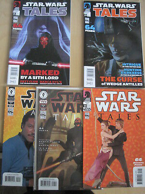 STAR WARS Tales :#s 5,9,15,23,24. 5 issues of the 2000 64 page Dark Horse series