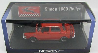 Simca 1000 Rallye 1971 Orange Norev AA 185700