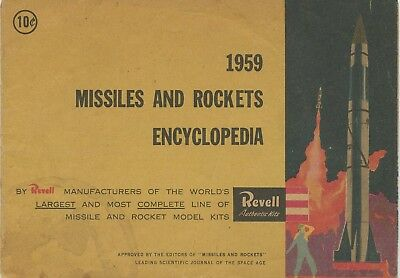 Revell Authentic Kits Missiles And Rockets Encyclopedia From 1959