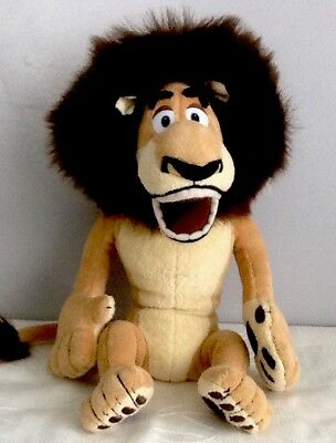 ALEX the Lion From MADAGASCAR soft toy Figure