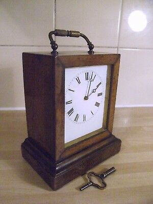 A small 19th century mantel clock made by Victor-Athanase Pierret (1806-93 )