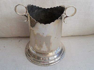 Silver Plate Wine / Champagne Cooler.