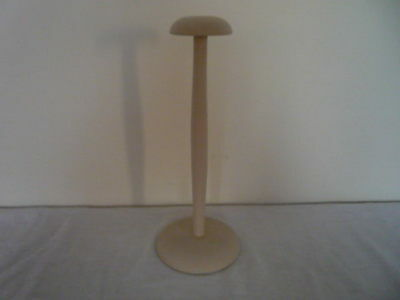 Petite Vintage French Wooden Millinery Hat Stand Shop Display Chic Interiors