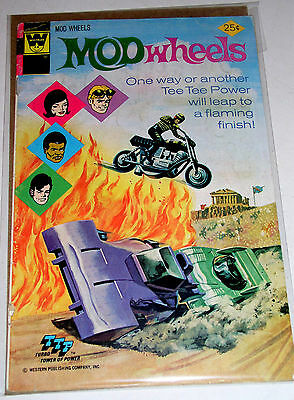 Mod Wheels #16  Whitman Comics 1975  Lower Prints And Harder Finds