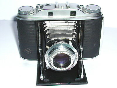 """AGFA """"Isolette III"""", Solinar 3,5/75 mm"""