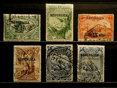 Portugal: 1898-1911 Classic Era Stamp Collection