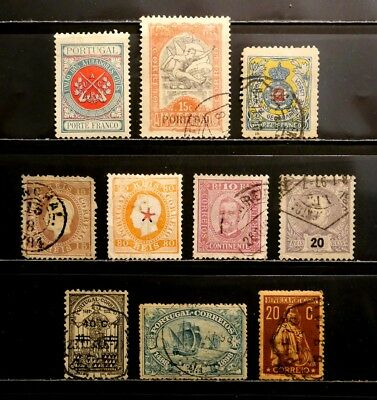 Portugal: Classic Era Stamp Collection With Better