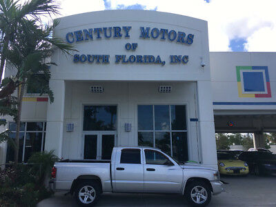 2008 Dodge Dakota SXT Crew Cab Pickup 4-Door LOW MILES WARRANTY LOADED CREW CAB NO ACCIDENTS FLORIDA