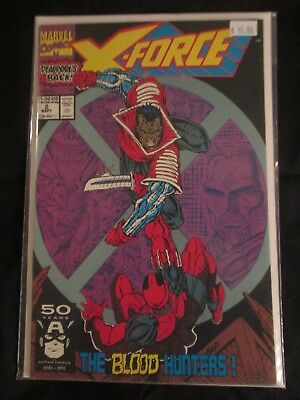 X-Force #2 (Marvel, 1991) NM Liefeld Deadpool