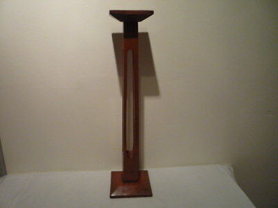 Vintage Art Deco Oak Wood Millinery Hat Stand Shop Display Chic Interior 18 Inch