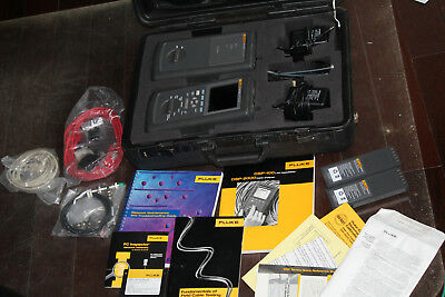 Fluke DSP-2000 Network Cable Analyzer & DSP-2000SR Smart Remote, Good Condition