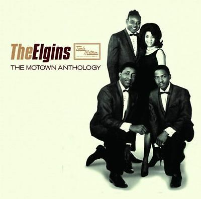 THE ELGINS: THE MOTOWN ANTHOLOGY 2x CD THE VERY BEST OF / GREATEST HITS NEW