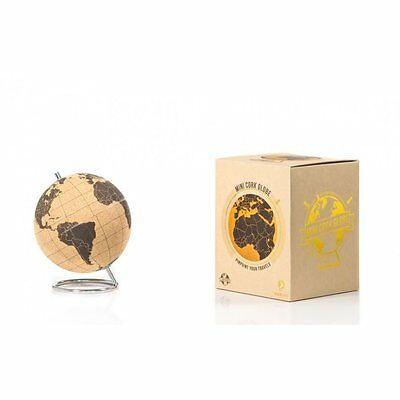 Suck Uk Cork Globe Small In Gift Box 'pinpoint Your Travels