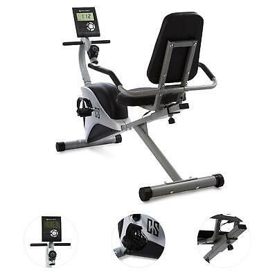 Cardio Fitness Fahrrad Indoor Training Bike Display Sitzend Gelenkschonend Grau