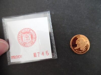 Gallery Mint Proof 1793 Half Cent Restrike Coin