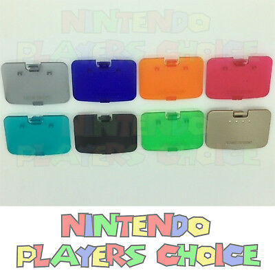 PICK YOUR COLOR - New Memory Expansion Jumper Pak Cover Lid for the Nintendo 64