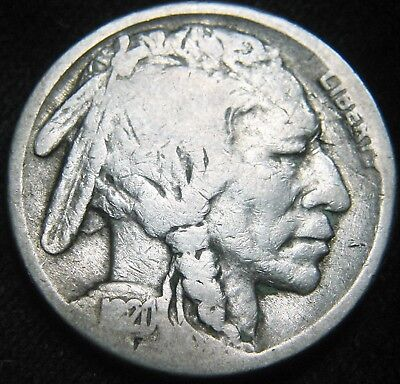 Tougher Date 1920-S BUFFALO NICKEL 5¢! FREE S&H! Low Mintage 9.6 million EH09CC