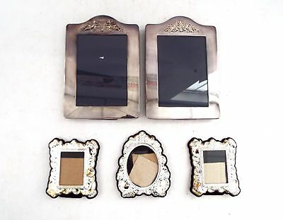Assortment Of x5 Silver Plated Frames  - W10
