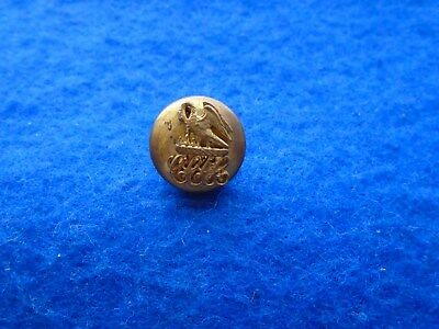 Early Rare Unusual Unknown Livery, Hunt, Military? Button, Depicts Swan