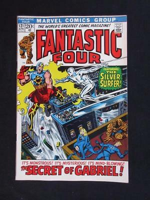 Fantastic Four #121 MARVEL 1972 -HIGH GRADE- Silver Surfer app/cover - Stan Lee!