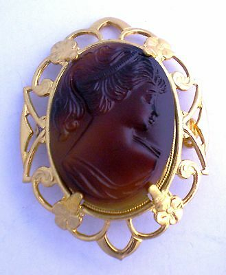 Gorgeous Antique Cameo Patent 2066969 Gold Filled