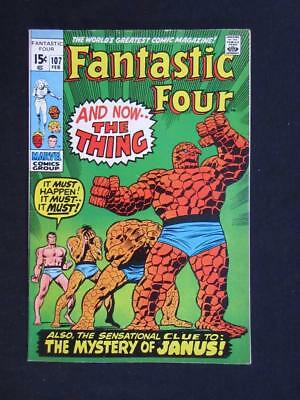 Fantastic Four #107 MARVEL 1971 - HIGH GRADE - John Buscema, Stan Lee!!!!!