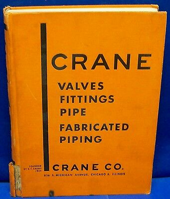 1949 CRANE CO Catalog - Valves Fittings Pipe ASBESTOS Packing Gaskets Fittings