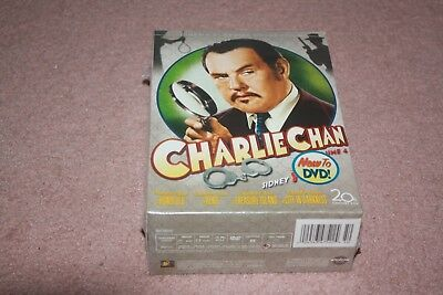 Charlie Chan Collection - Vol. 4 (DVD, 2008, 4-Disc Set) *Brand New Sealed*