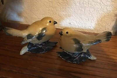Pair Of Vintage Look Bird Salt And Pepper Shakers Mark Ff Japan Fitz Floyd?