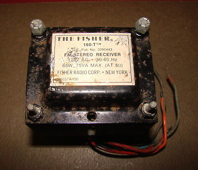 Fisher Model 160-T Power Transformer from Stereo Receiver