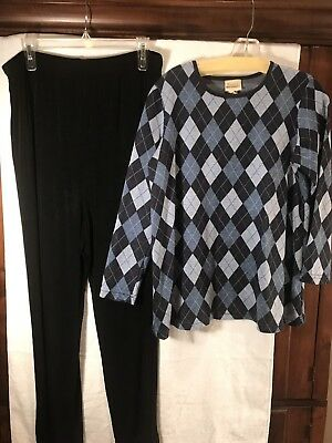 LOT of Maternity Clothes Medium Motherhood Duo Announcements **LOOK**  5 pieces