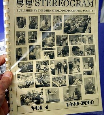 Stereogram - Newsletter of the Ohio Stereo Photographic Society - Volume 4