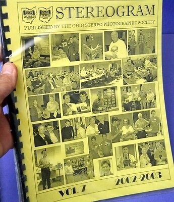 Stereogram - Newsletter of the Ohio Stereo Photographic Society - Volume 7