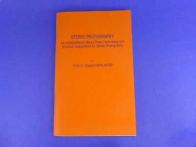 Fritz G. Waack - Stereo Photography - 1985 booklet BH