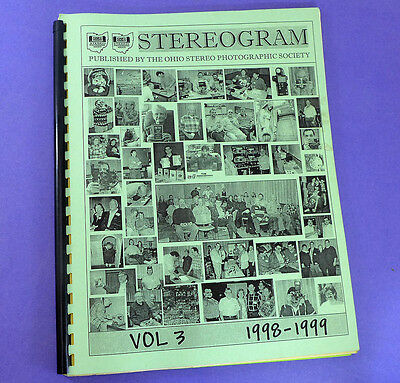 STEREOGRAM Vol 3 (1998-1999) - Lots of stereo 3d photography information
