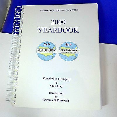National Stereoscopic Society of America (SSA) 2000 Yearbook, 3d pictures BH