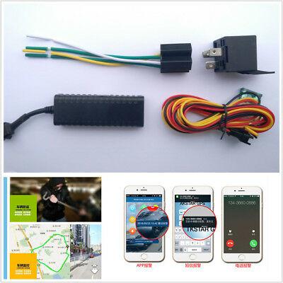 New Car Motorcycle GPS Tracking Device With Geo-fence Over Speed Alarm Function