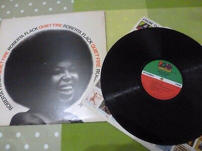 A Roberta Flack  Long Play Vinyl Record - Quiet Fire