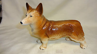 Vintage Collectable Melba Ware Ceramic Figure Of A Corgi Dog