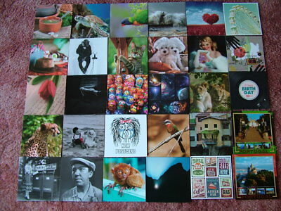 30 Unused POSTAL SHOP, ETC Postcards. Mainly from Russia. Mint condition.