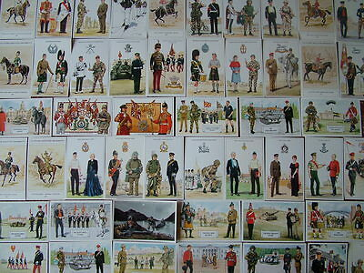 100 Standard size Unused GEOFF WHITE, MILITARY Postcards.  Mint condition.