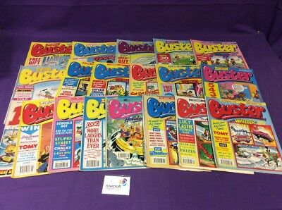 Vintage Buster Magazines x 18