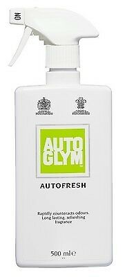 Autoglym 0.5L Autofresh In Car Air Freshener 500ml Trigger Spray Fragrance