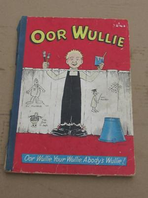 Vintage Oor Wullie 1958 Annual - Comic Interest   - Cheap Buy It Now