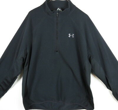 Mens Under Armour Fleece Jacket Size Xl Very Nice