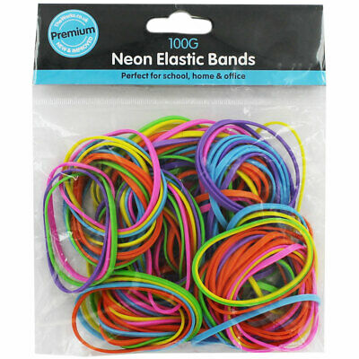 Assorted Elastic Bands, Stationery, Brand New