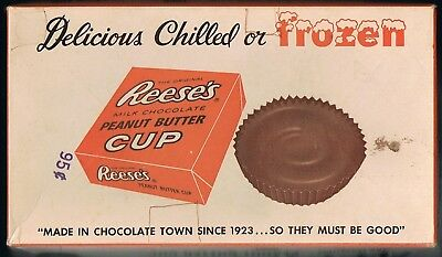 Vintage Reese's Peanut Butter Cup Candy Bar Box