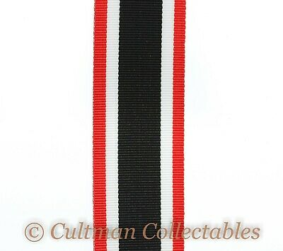 F12. German WW2 War Merit Cross 1939 Medal Ribbon – Full Size